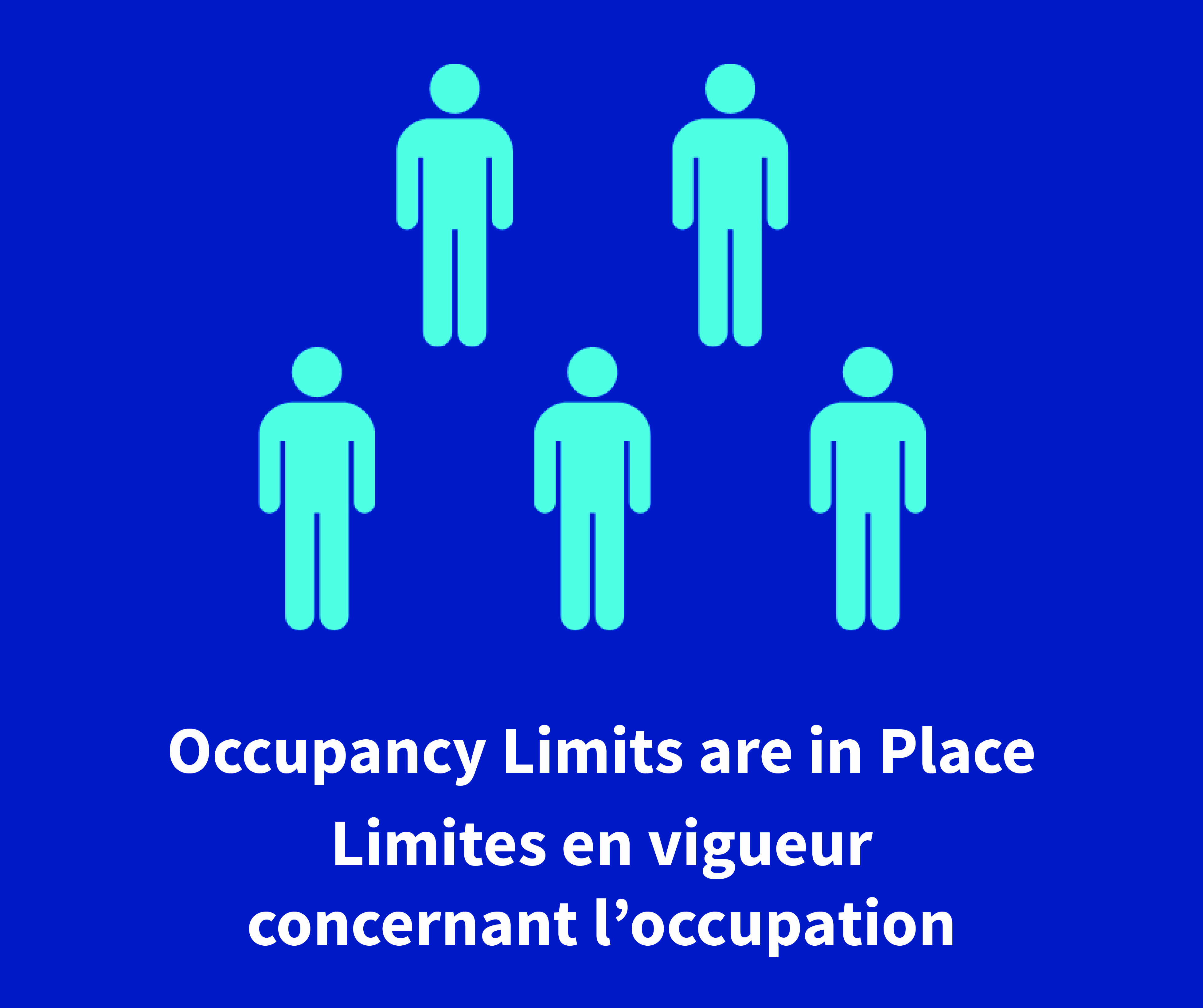 Occupancy limits are in place