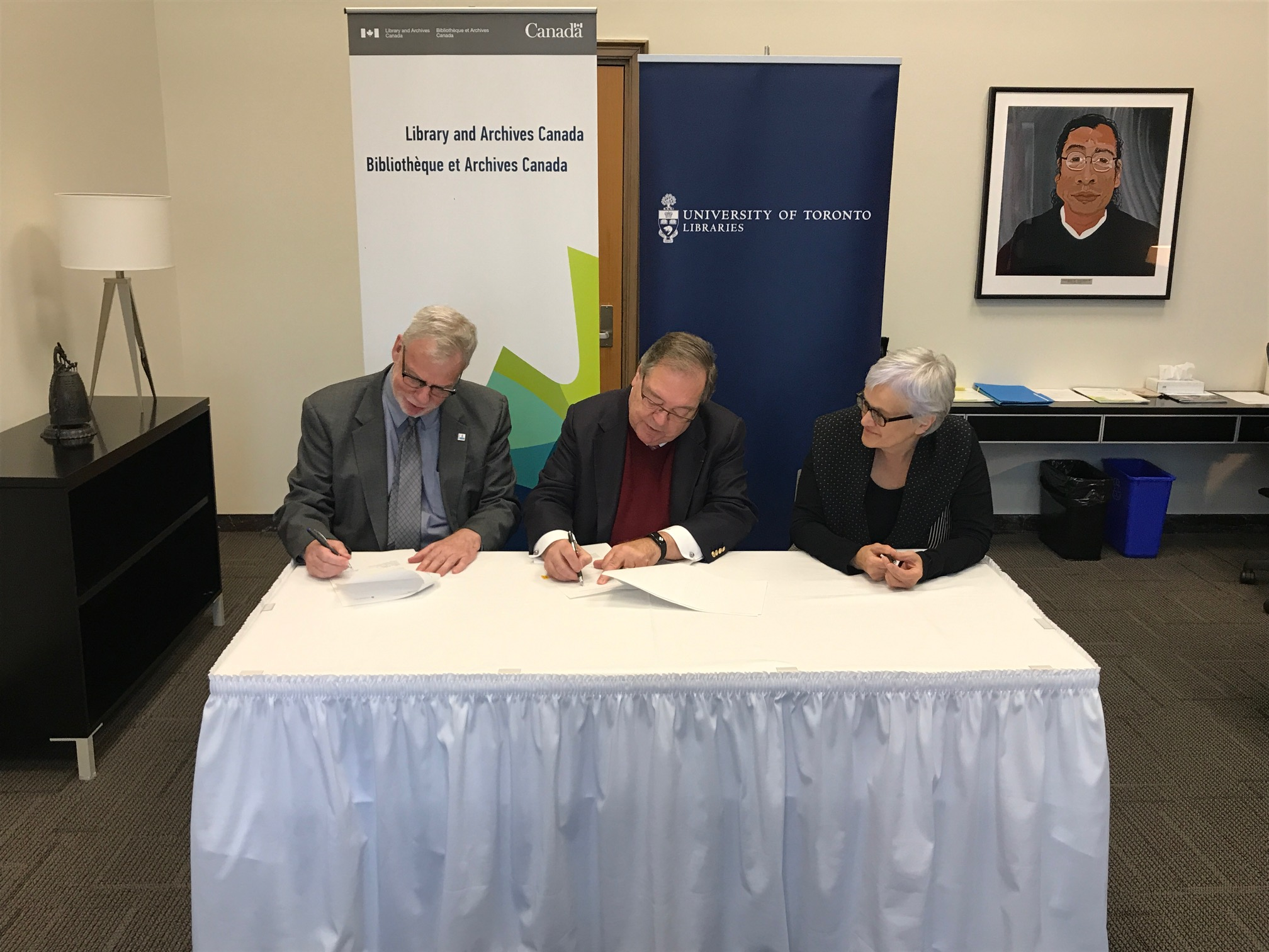 The University Of Toronto Has Signed A Collaborative Agreement With Library And Archives Canada LAC To Share Expertise Knowledge Two