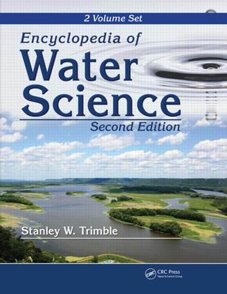 Encyclopedia of Water Science, edited by B. A. Stewart and T. A Howell