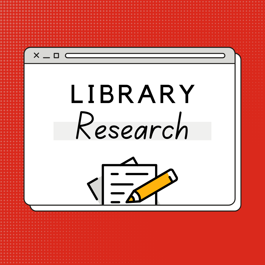 library research tutorial welcome image