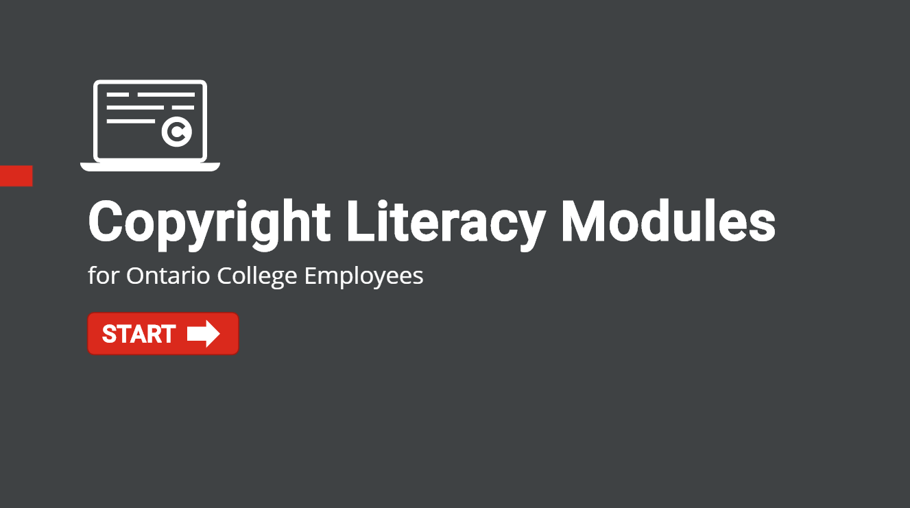 Copyright Literacy Modules