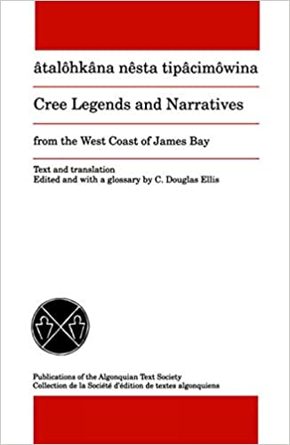 Cree Legends and Narratives book cover