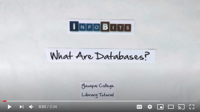 Video: What's a database?