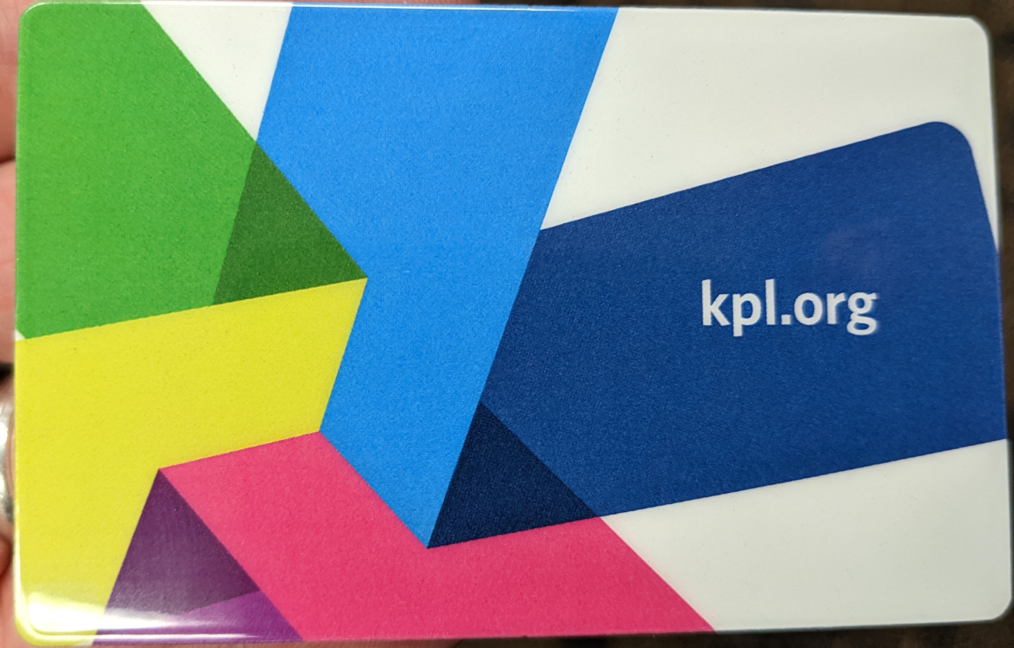 Kitchener Public Library Library Card
