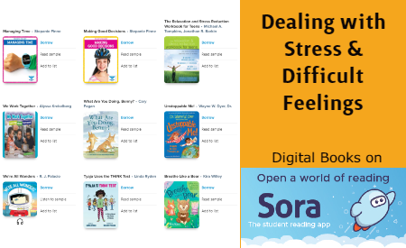 Dealing with Stress and Difficult Feelings Digital Books on Sora