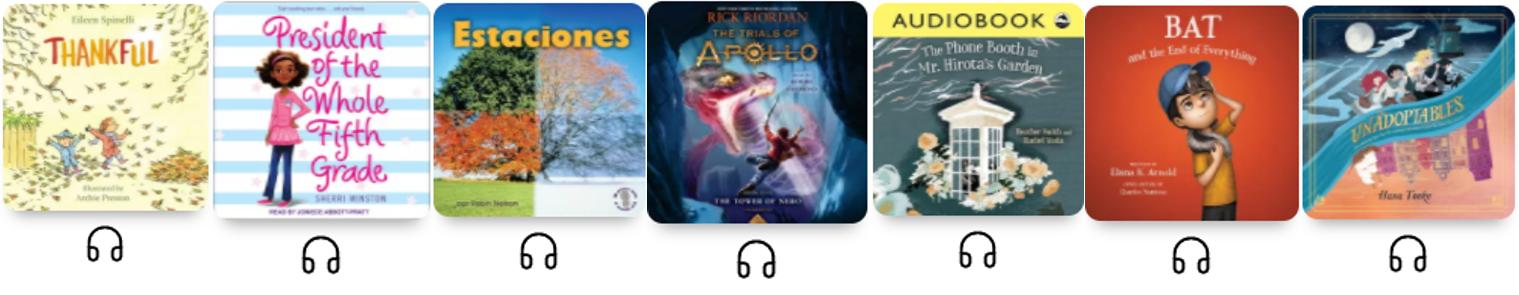 Audiobooks on Sora