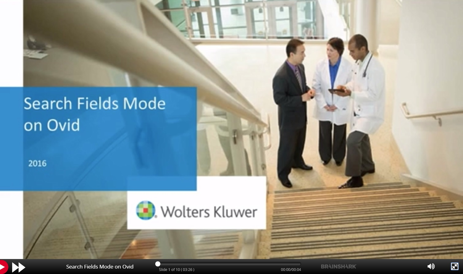 Link to video for Search Fields Mode on OVID