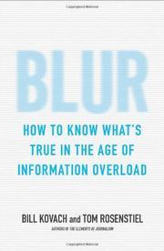 Blur by Bill Kovach and Tom Rosentiel