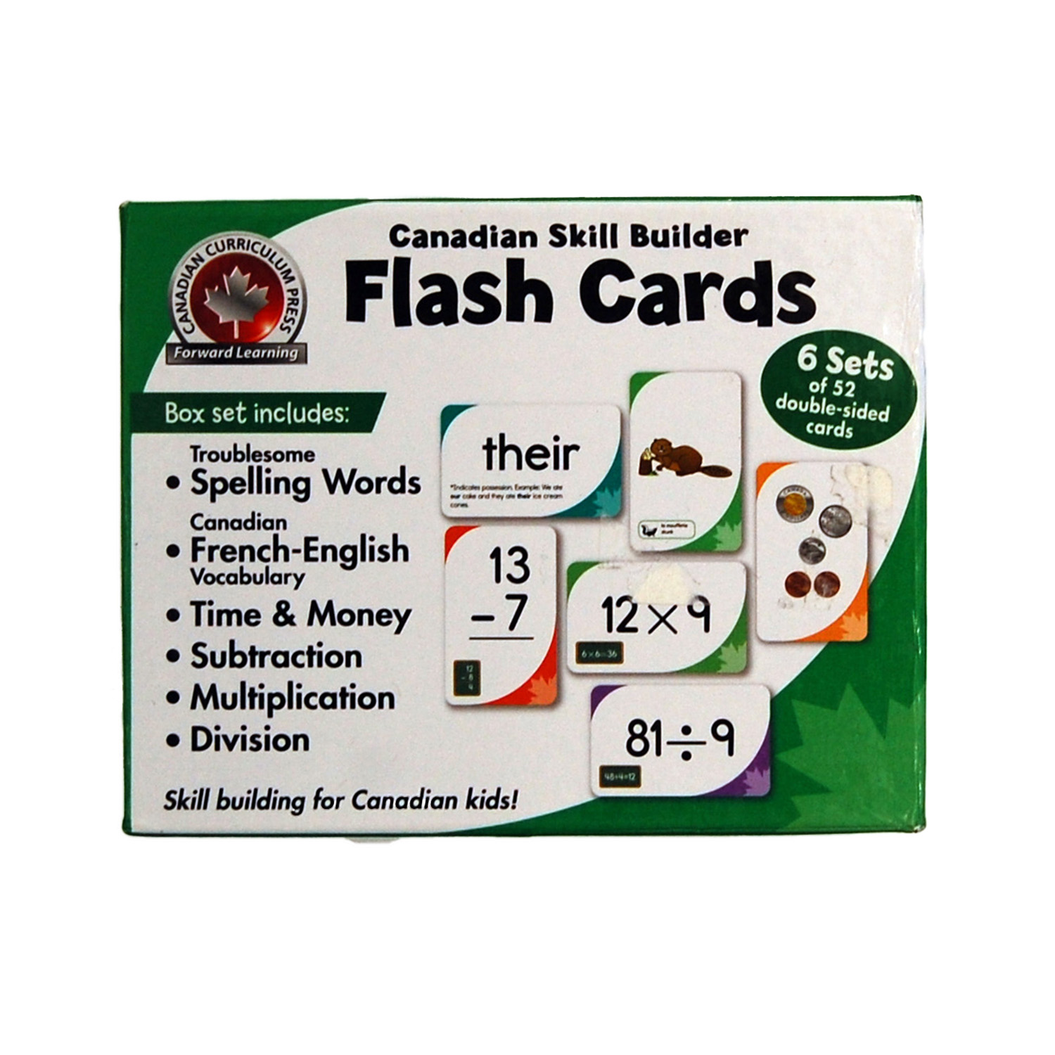 Canadian skills builder flash cards