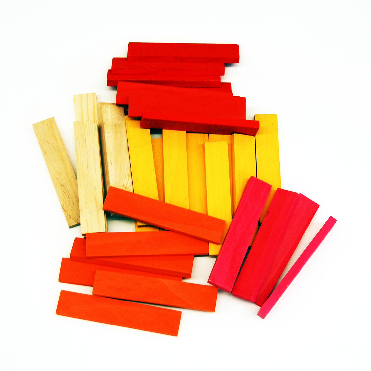 wood building block set