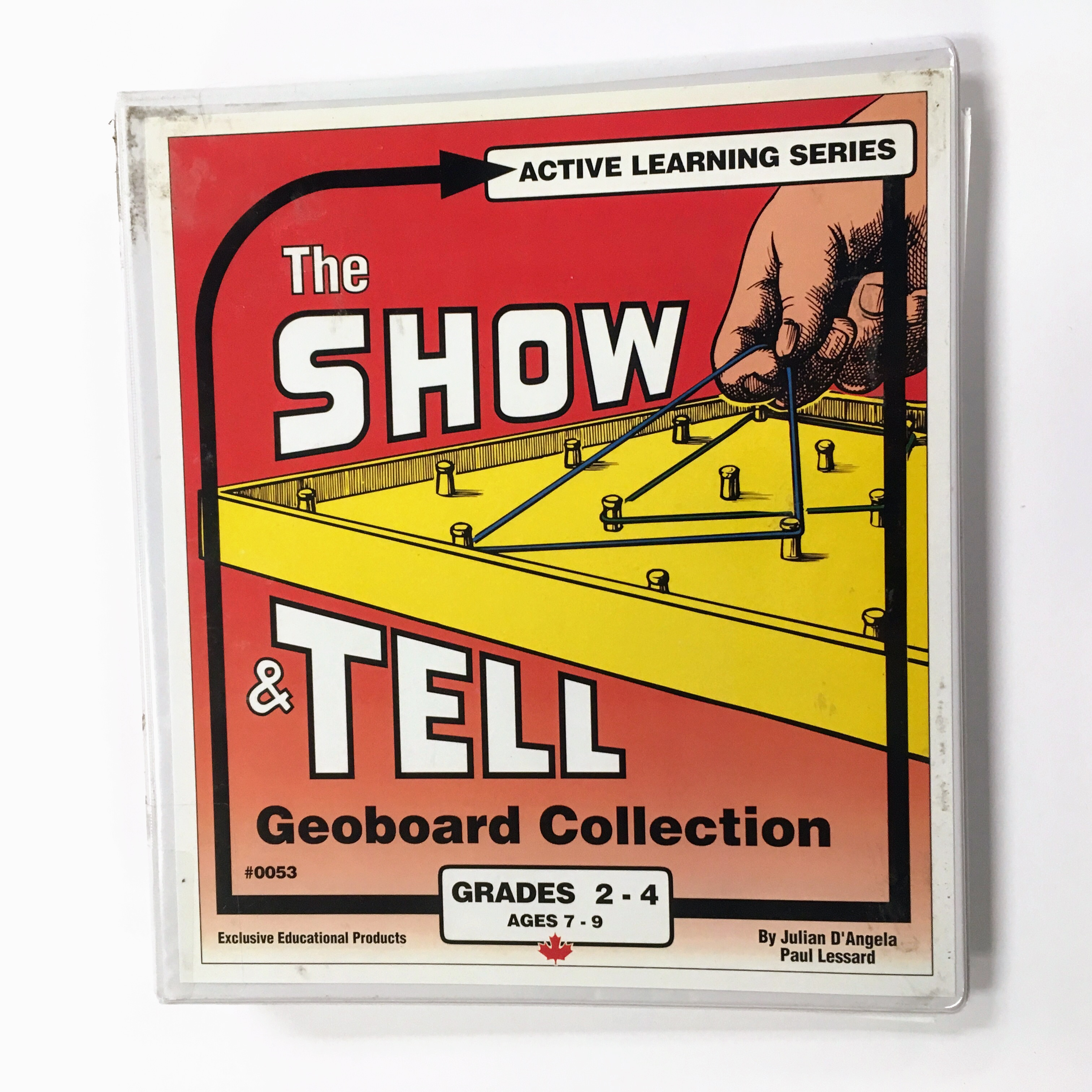 show and tell geoboard binder