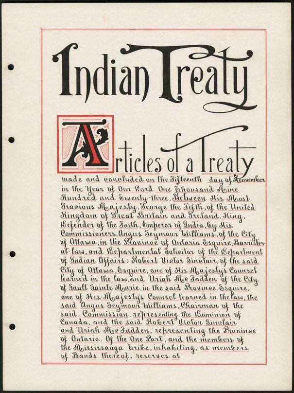 Read the Williams Treaty