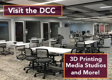 digital creativity center now open