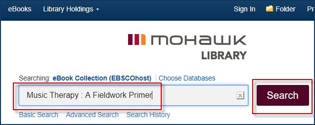 search for ebook in ebscohost ebook database