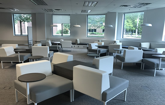 seating at the iahs library