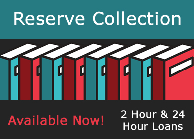 reserve books available for loan