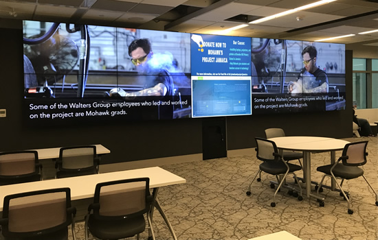 digital wall in the dcc