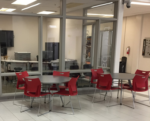 view of the stoney creek campus collaboratory