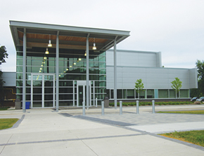 outside view of the stoney creek library
