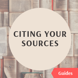 Citing your sources guides