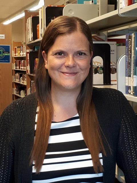 Shawna, library staff member