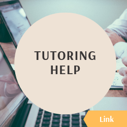 "Icon reading ""tutoring help"" and linking to the book a tutor page"