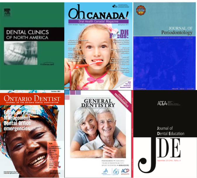 Dental magazine & journal covers