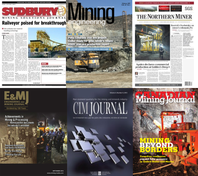 Mining engineering magazines & journals