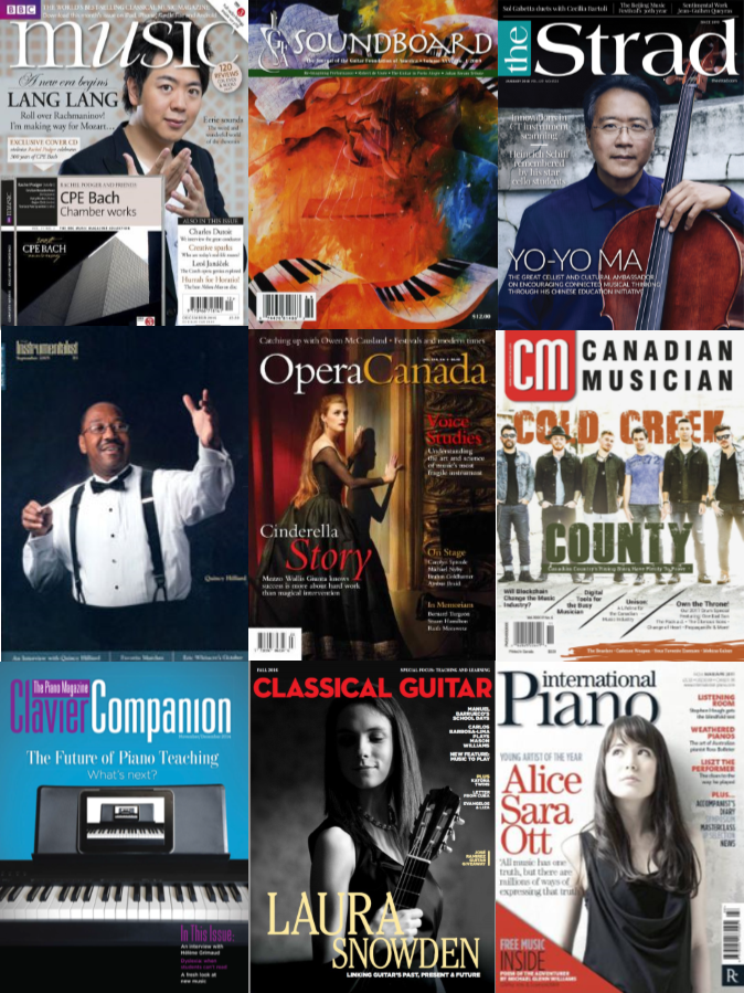 Music magazines & journals