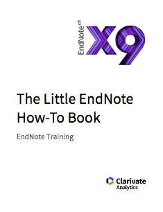 The Little EndNote How-To Book