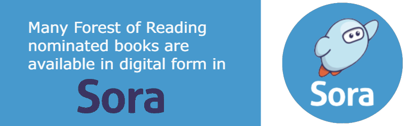 Many Forest of Reading nominated books are available in digital form in