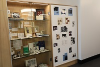 Archives and Special Collections Reading Room display