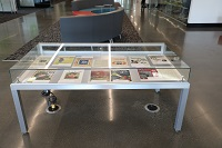 Table display case (1st floor)