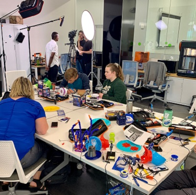 Makers Making Change hosts a toy hackathon in the Maker Studio on May 23