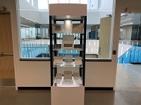 Multi-level Display Case  (4th floor)