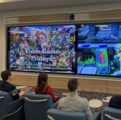 Video Game Fridays in the Ideas Lounge