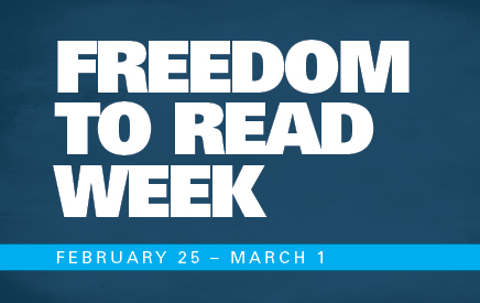 Freedom to Read Week takes place February 25 to March 1