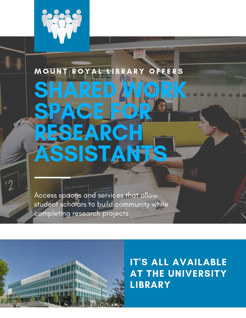 Workspace for research assistants handout