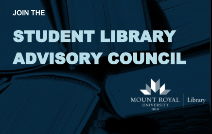 Join the Student Library Advisory Council