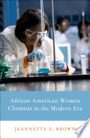 African American Women Chemists in the Modern Era. Book Cover