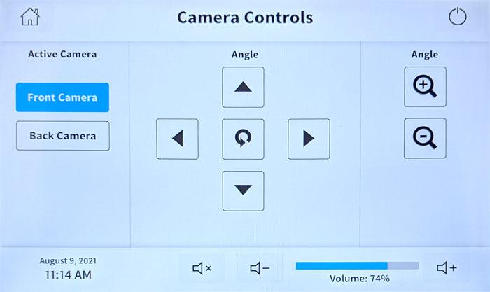 Crestron camera