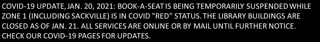 """notice: library temporarily closed due to covid 'red"""" status"""