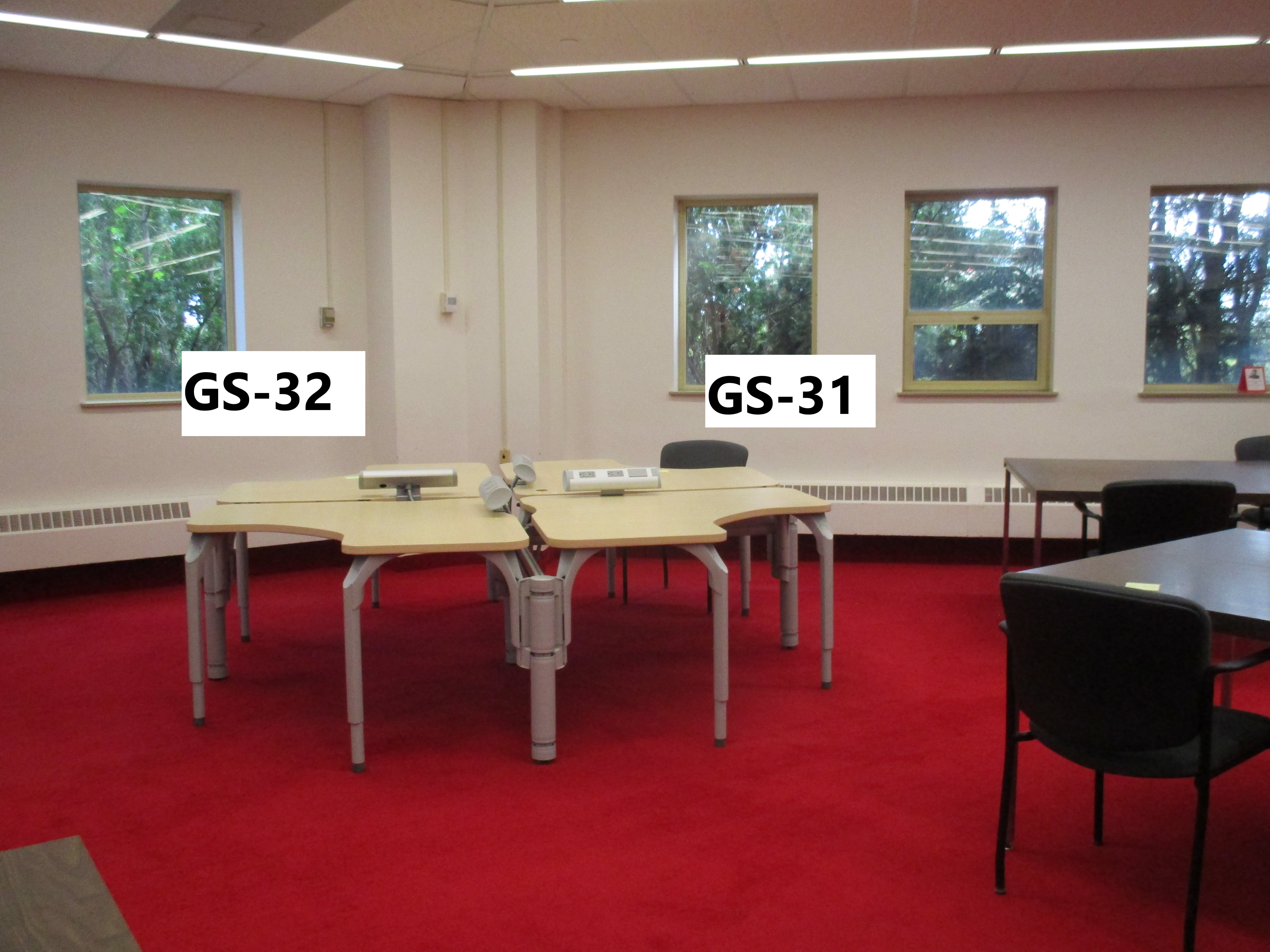 Photo of seats 32 and 31