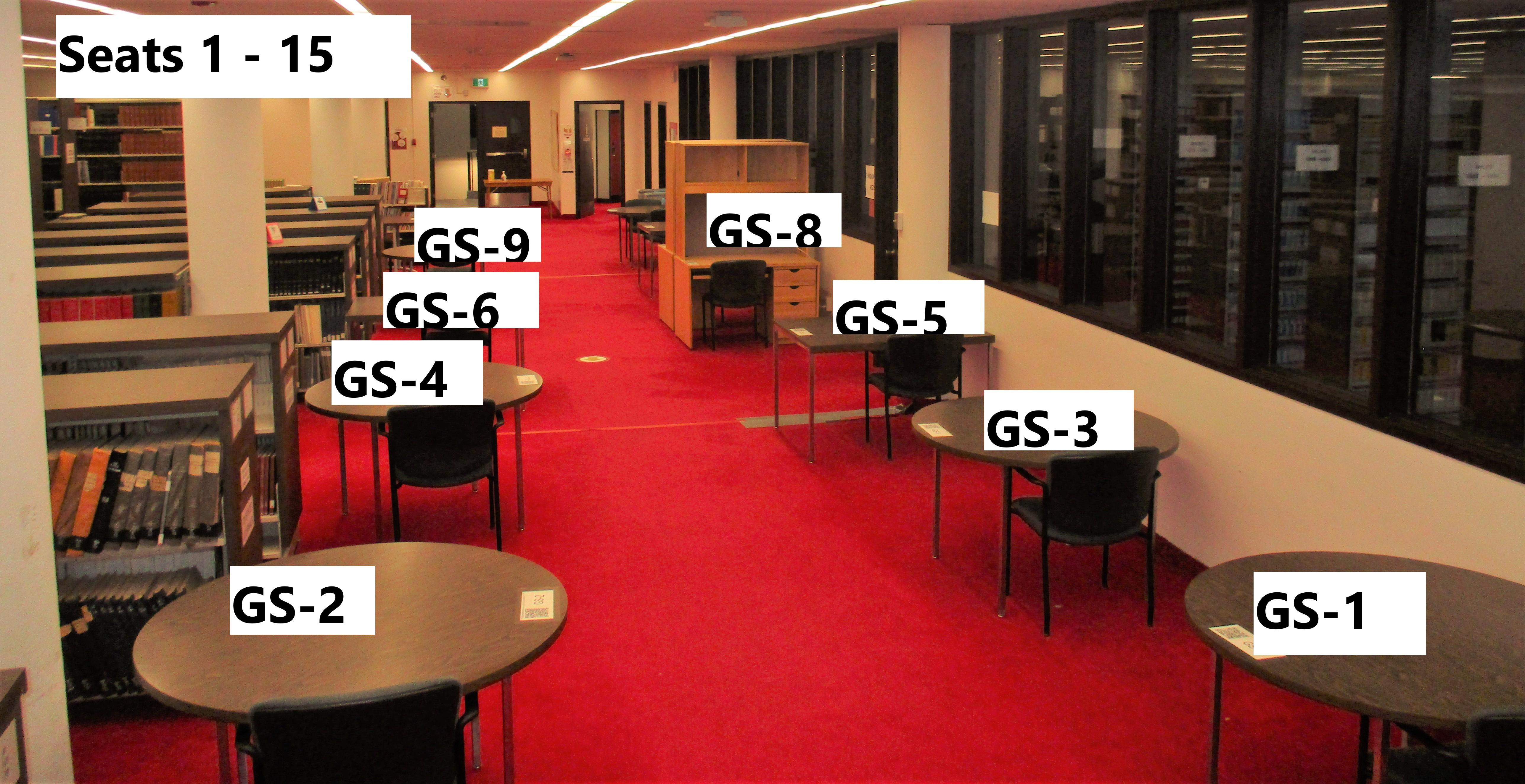 photo of ground floor single seats