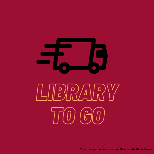 Library to Go logo with hyperlink