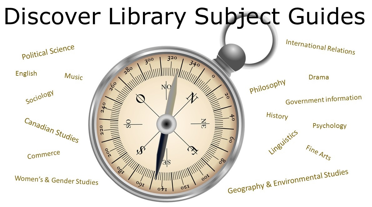 Discover Library Subject Guides