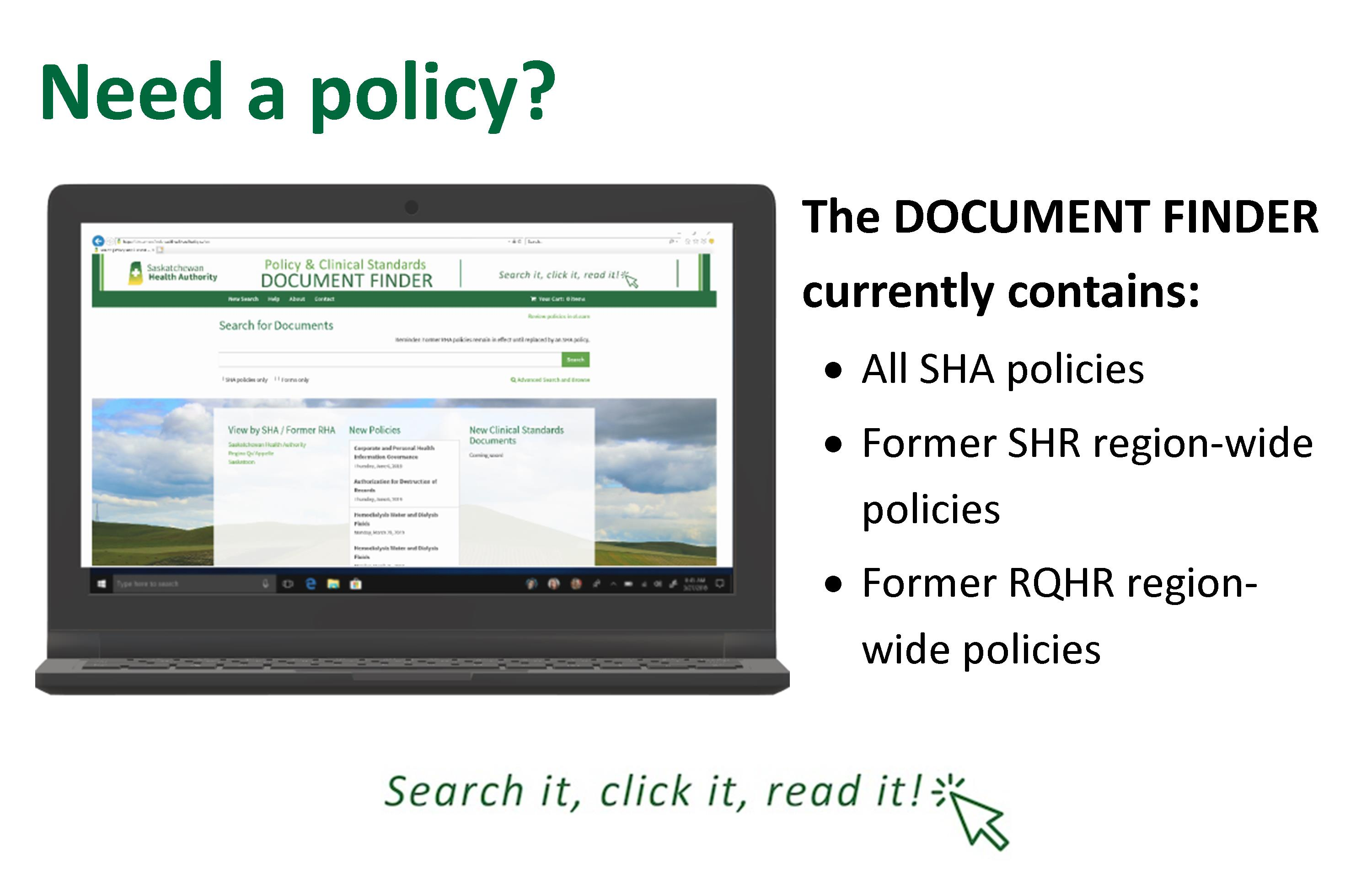 Policy Document Finder
