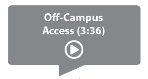 Video on Off-Campus Access