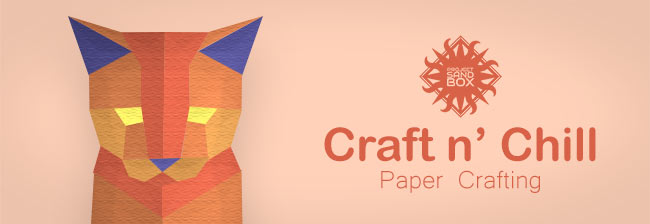 Craft n Chill Paper Crafting header image