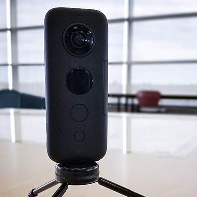 Image of an Insta360 One X